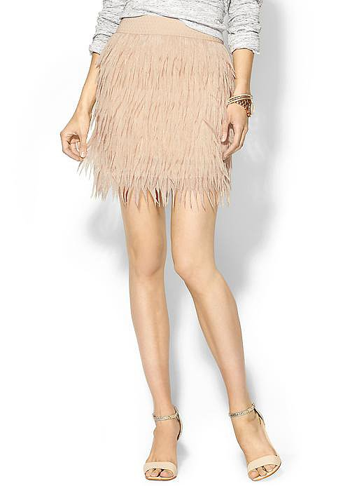 Sabine Feather Skirt