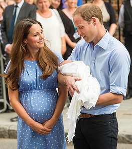 July-Kate-Middleton-Prince-William-introduced-Prince-George