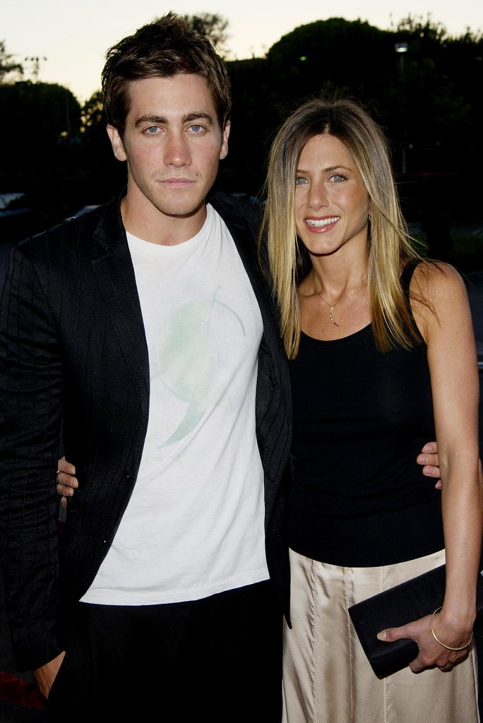 Jake and Jennifer Aniston walked the red carpet together at the August 2002 premiere of their film, The Good Girl, in LA.