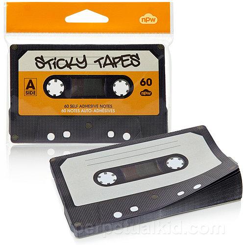 Cassette Tape Notepad