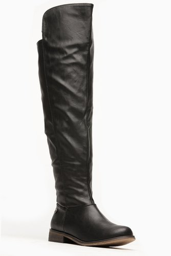 Breckelles Knee High Tenesse Black Rider Boots