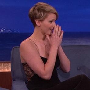 Jennifer Lawrence Interview on Conan Dec. 2013 | Video