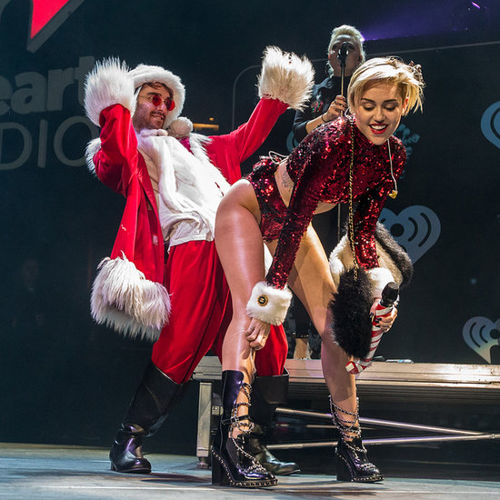 All the Ways Miley Got Naughty With Saint Nick This Year