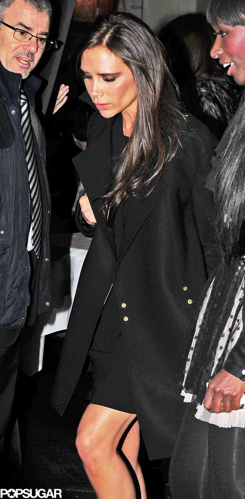 Victoria Beckham had a night at La Petite Maison with Tana Ramsay.