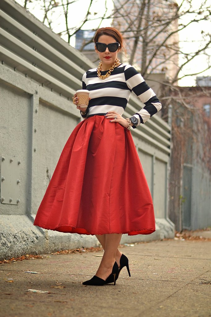 Congrats, MissLeanne! A midi skirt is always in style — especially right now!