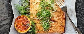 Good Friday Lunch: Orange Sesame Baked Salmon
