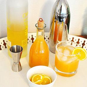 Grapefruit-Basil Cocktail Mixer