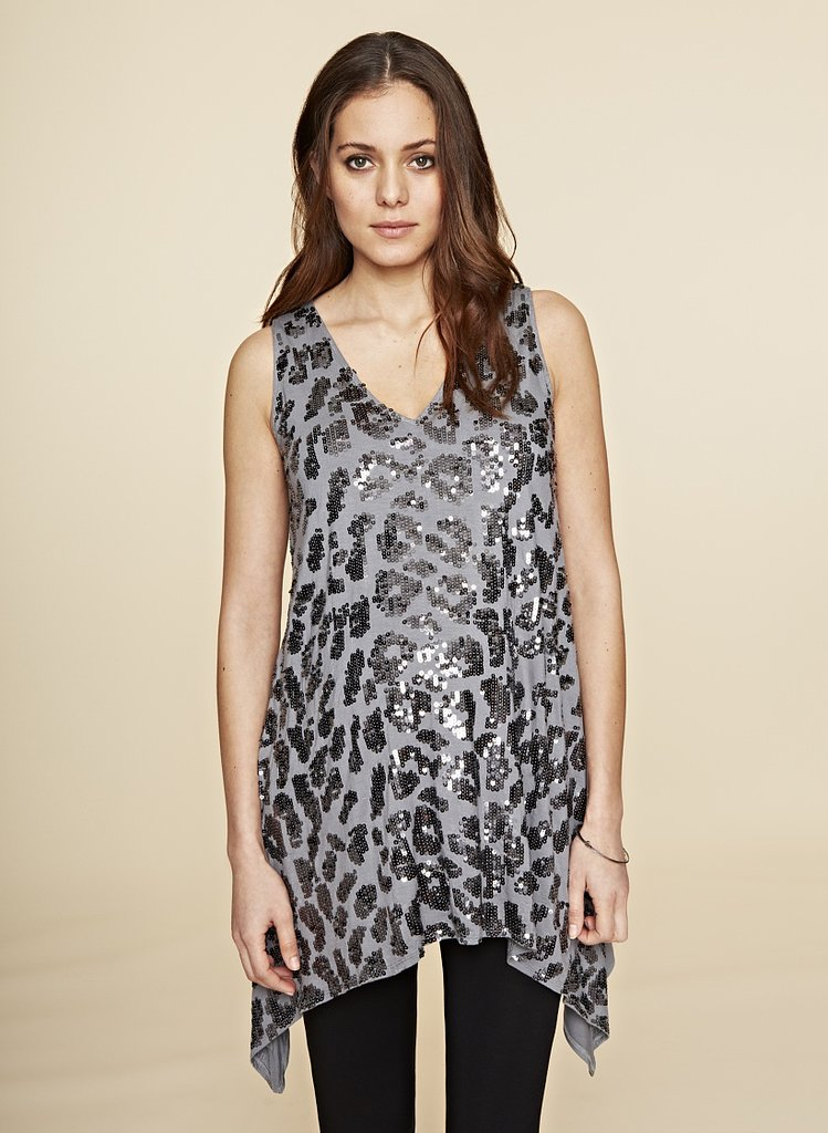 Isabella Oliver Florence Sequin Maternity Top
