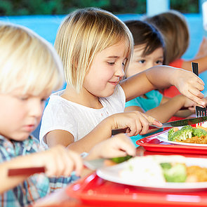 Kids Work For Free Lunch