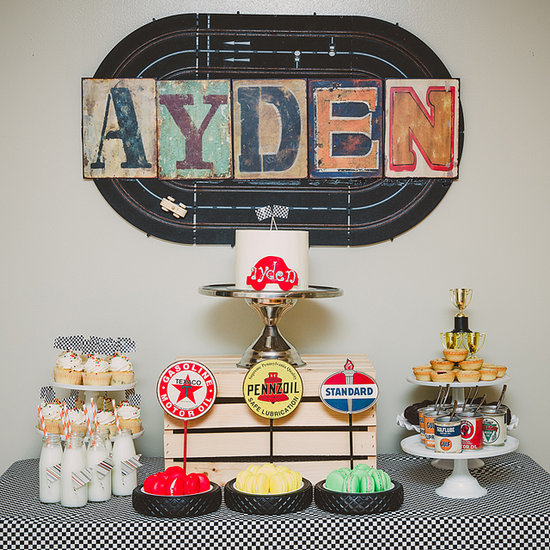 Race Car First Birthday Party Ideas