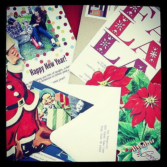 Make last-minute holiday cards  Source: Instagram user RedStamp