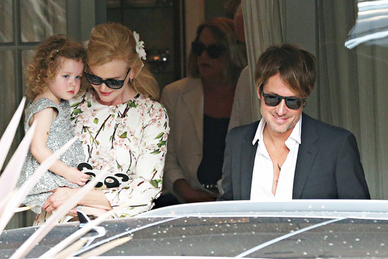 Nicole Kidman and Keith Urban in Sydney