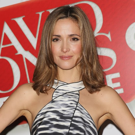 Rose Byrne's Makeup For Boxing Day 2013