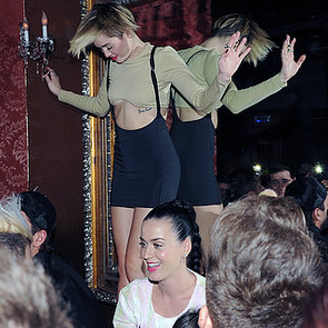 Miley Cyrus at Britney Spears Planet Hollywood Vegas Opening