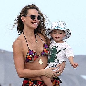 Celebrities on the Beach For Christmas 2013