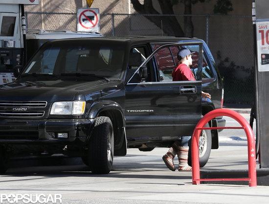 Kristen-Stewart-made-her-way-pump