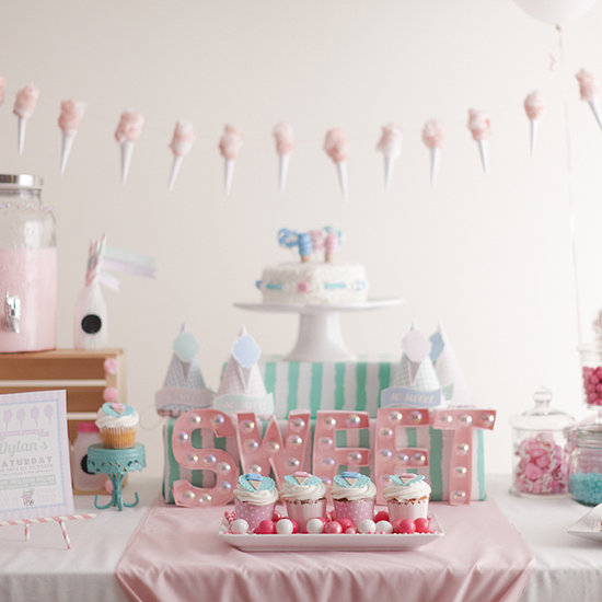 Cotton Candy Birthday Party