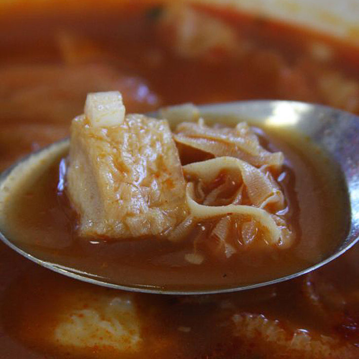 Romania: Tripe Soup