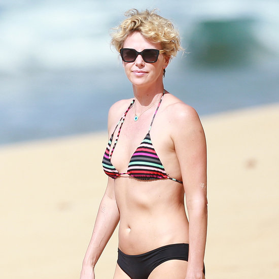 Charlize Theron in a Bikini in Hawaii