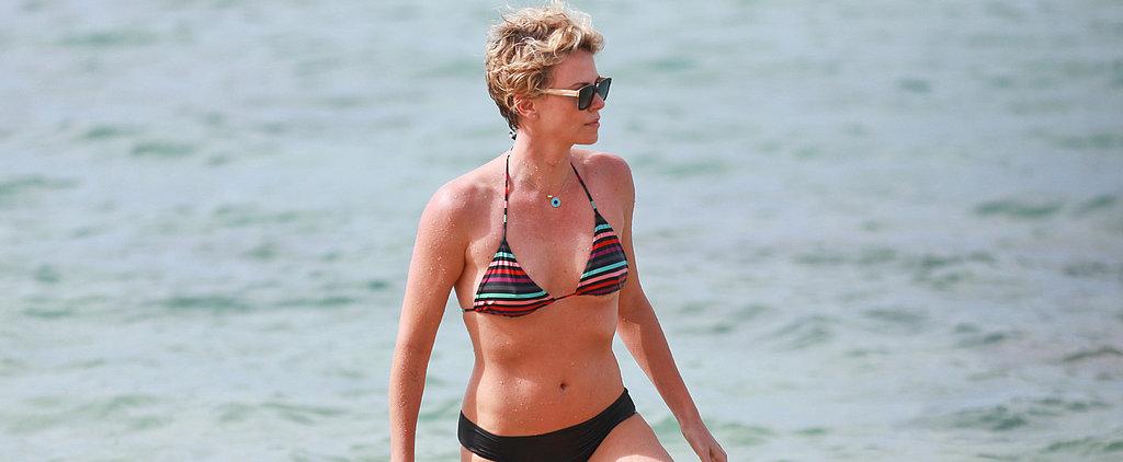 Charlize Theron's Bikini Body Is Heating Up Hawaii