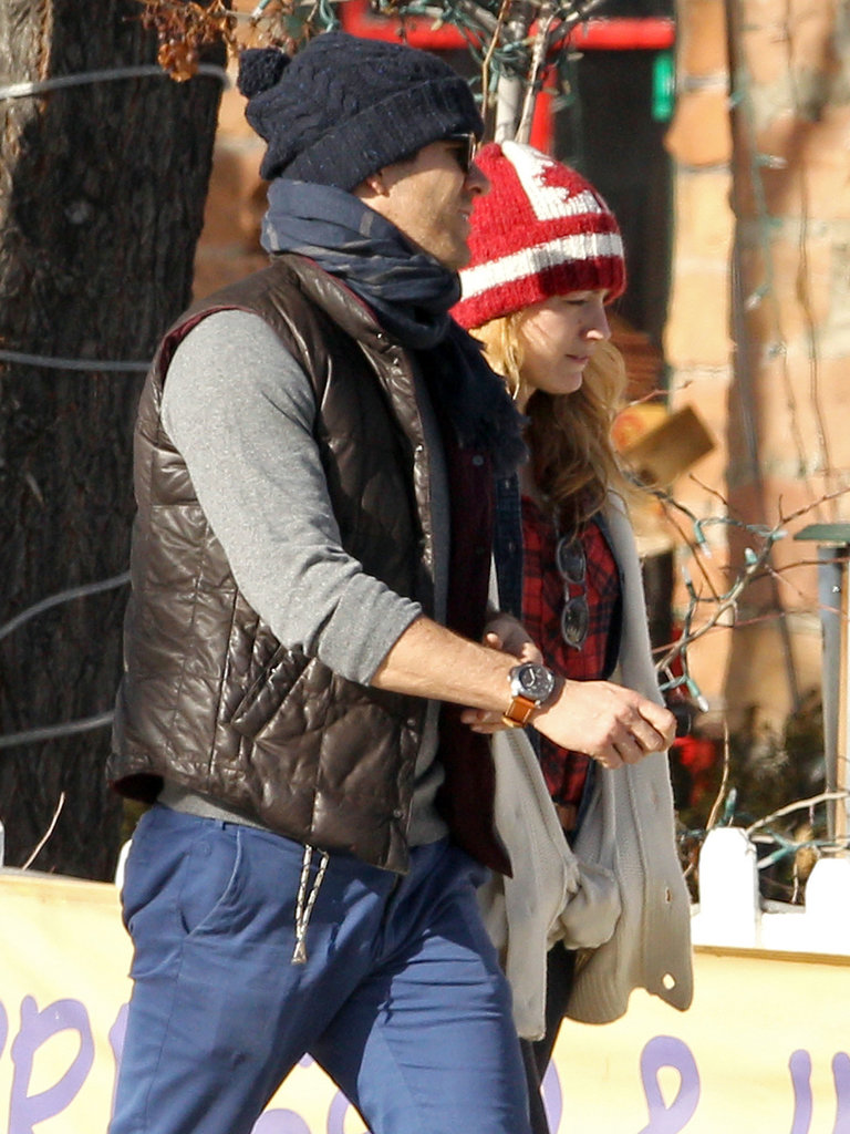 Ryan Reynolds and Blake Lively bundled up while out and about in Aspen after Christmas.