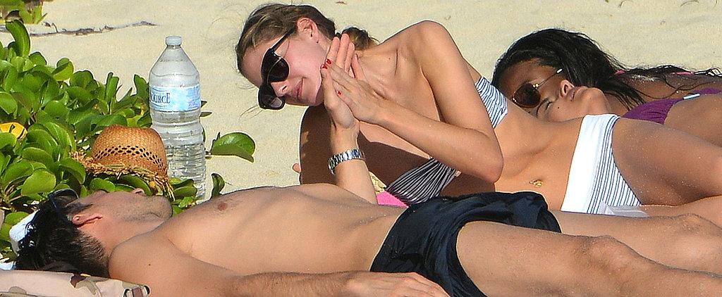 Olivia Palermo and Her Sexy Boyfriend Heat Up St. Barts
