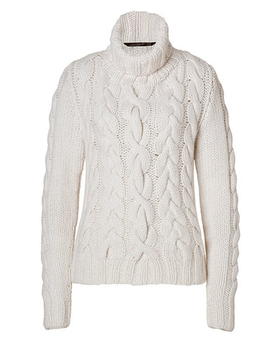 ANTONIA ZANDER Cashmere David Turtleneck in White