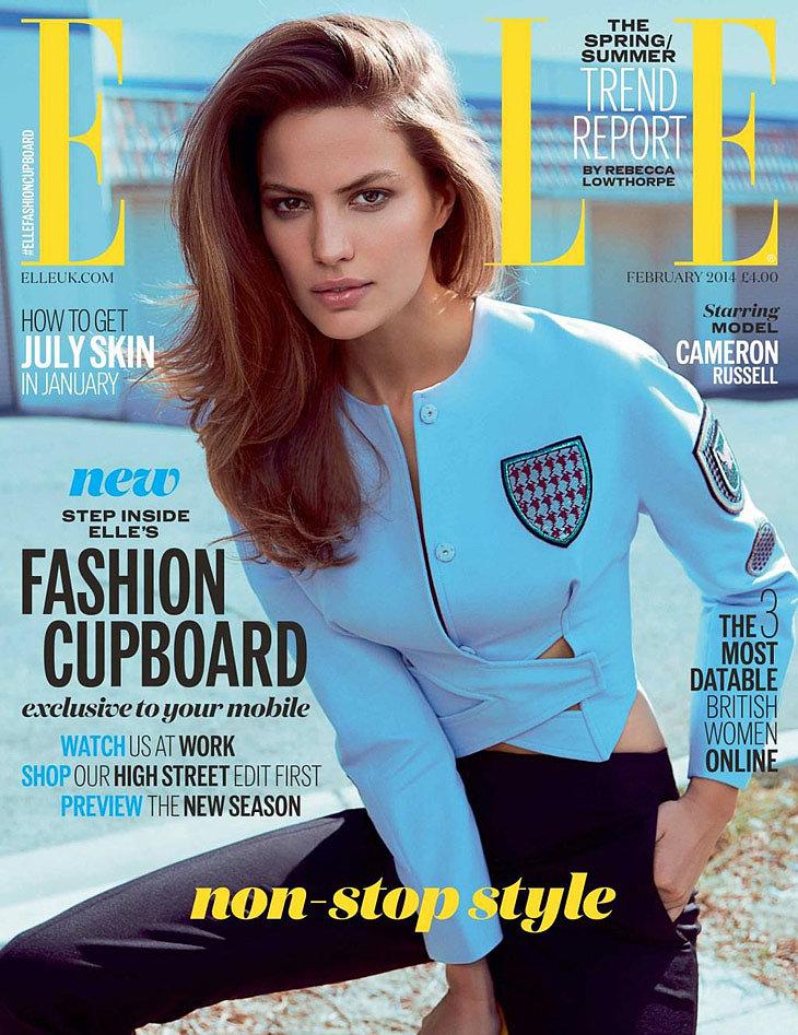 Elle UK February 2014