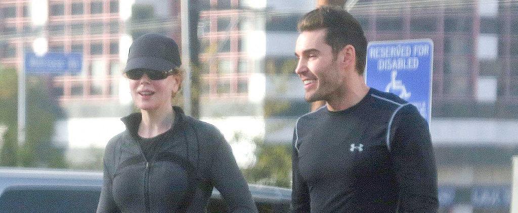 Nicole Isn't Kidding About Her Fitness Regimen