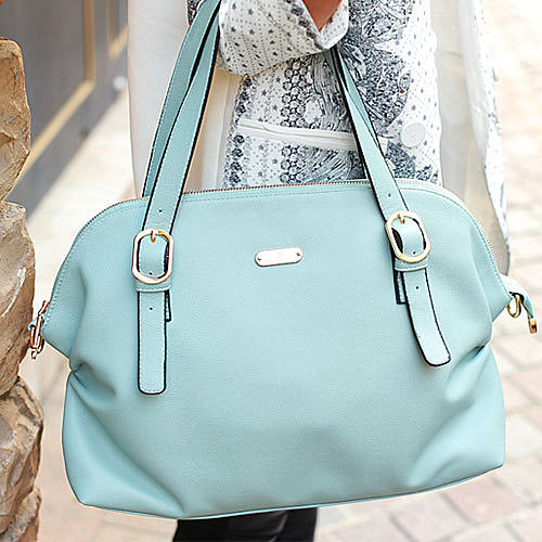 Image of [grxjy520123]Cute Elegant Pure Color Leisure Handbag Shoulder Bag