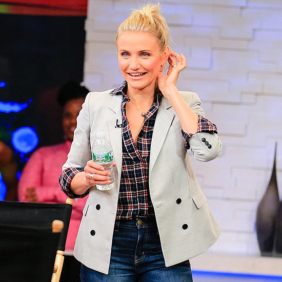Cameron Diaz Good Morning America Interview 2014