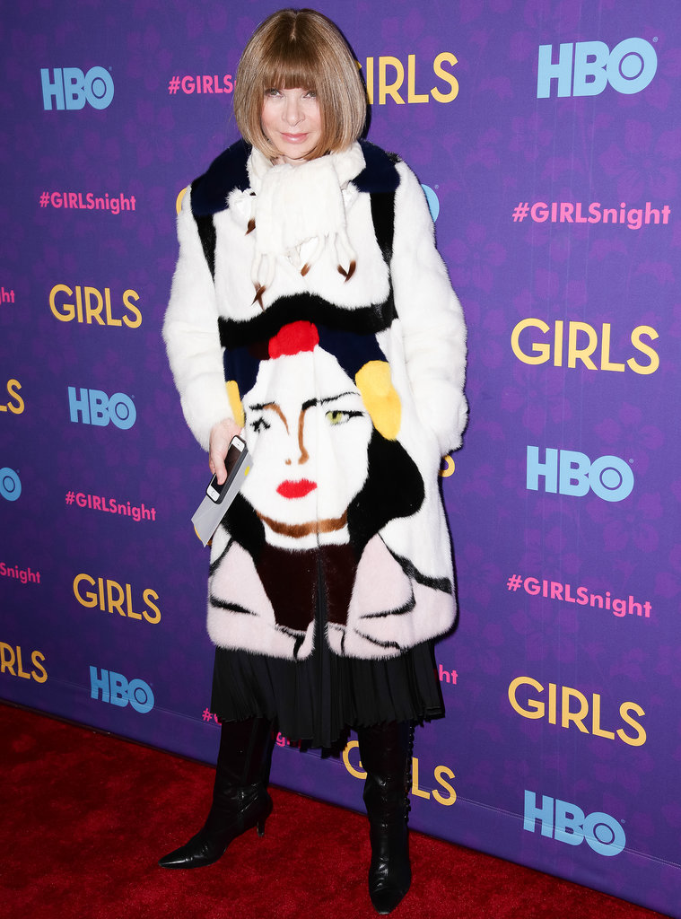 Anna Wintour at the Girls premiere.