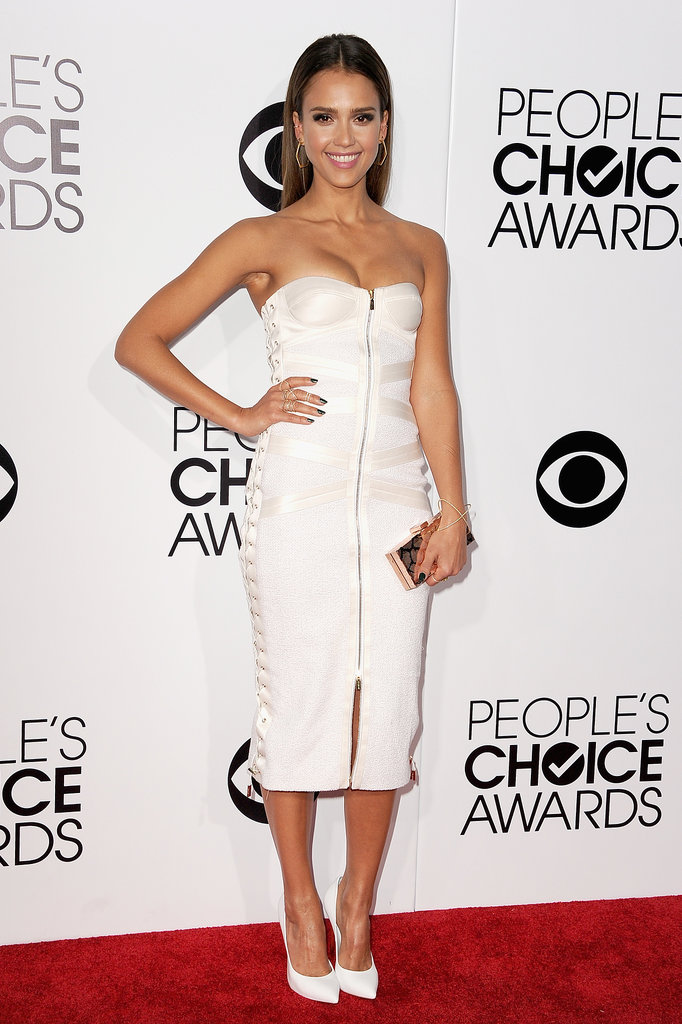 Jessica Alba at the People's Choice Awards 2014