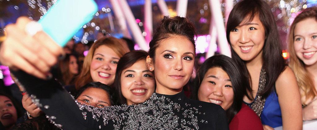 Confirmed: Nina Dobrev Had a Pretty Awesome Night
