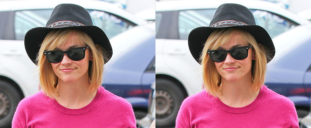 Reese Witherspoon's Bangs Are Perfect For Fringe Beginners