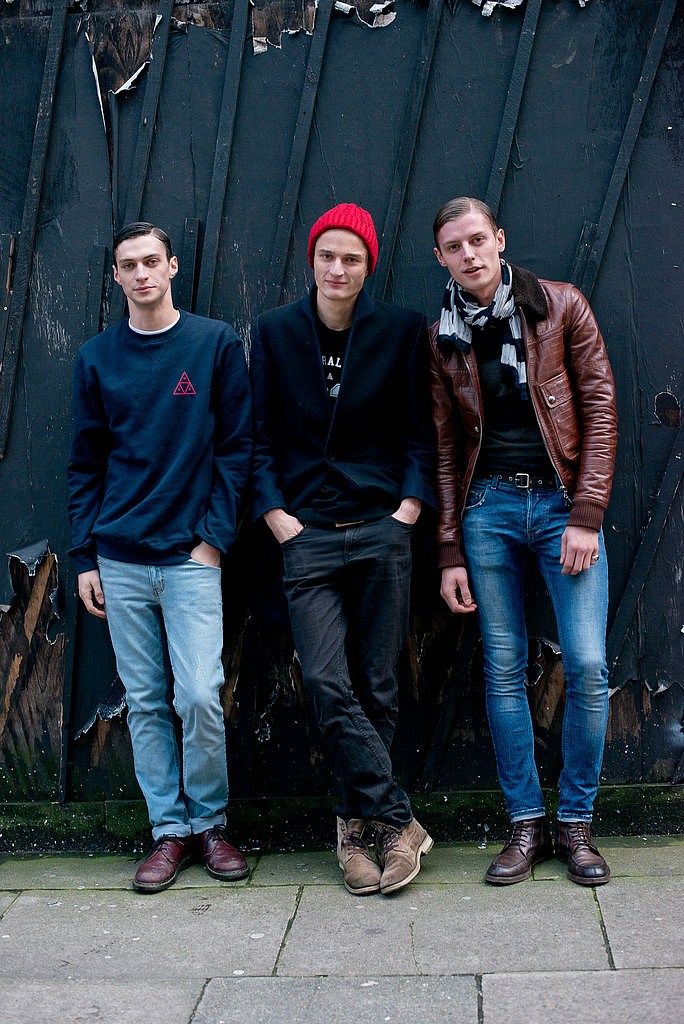 Not just cute eye candy, pay attention to this crew's cool styling tips: rugged boots and oxfords, cool beanies, and prep-school-inspired blazers and sweatshirts.