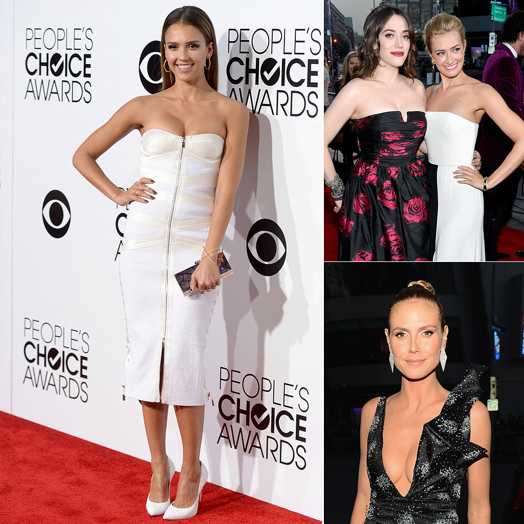 See who wore what to last year s people s choice awards