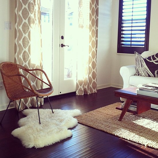 How to Style Two Rugs Together