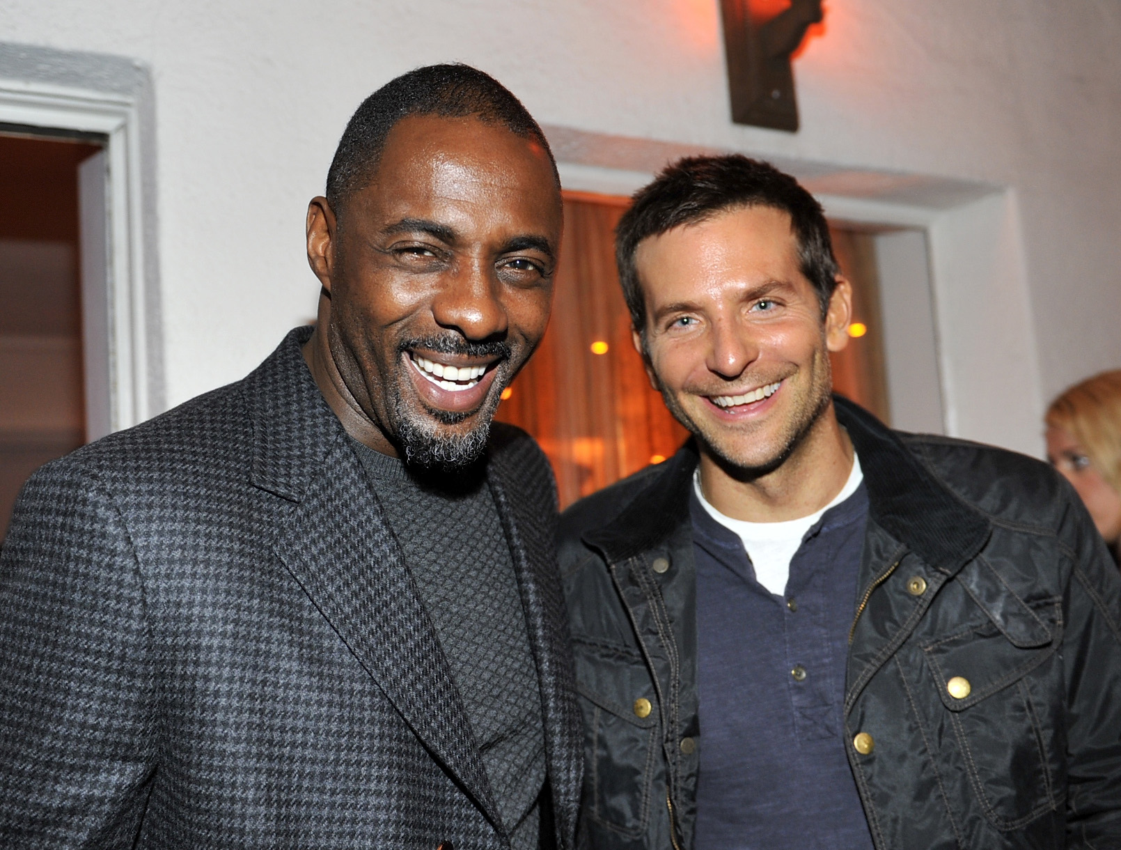Bradley Cooper and Idris Elba made a handsome pair.