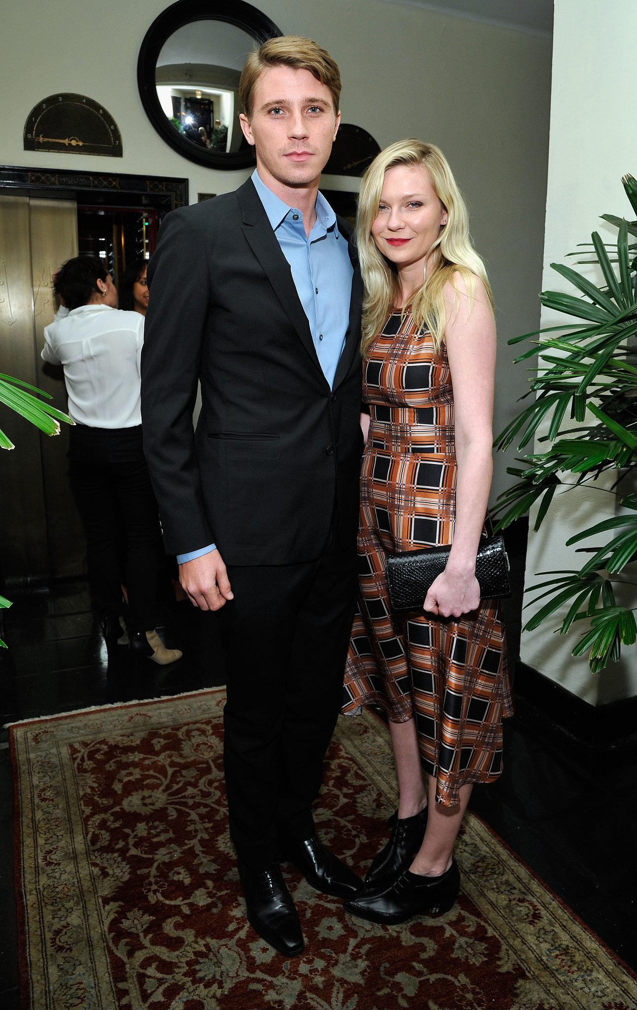 Kirsten Dunst and Garrett Hedlund arrived together.