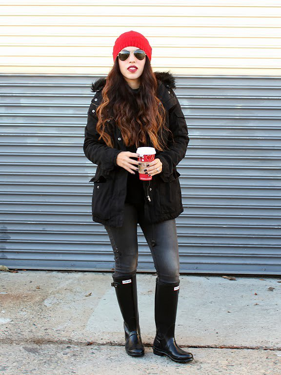 Congrats, mayraemily! You know how to survive the polar vortex in style.