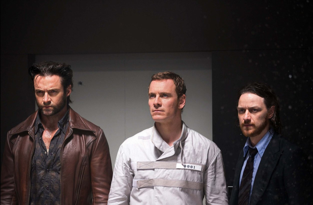 Wolverine, Magneto, and Professor Xavier take a minute.