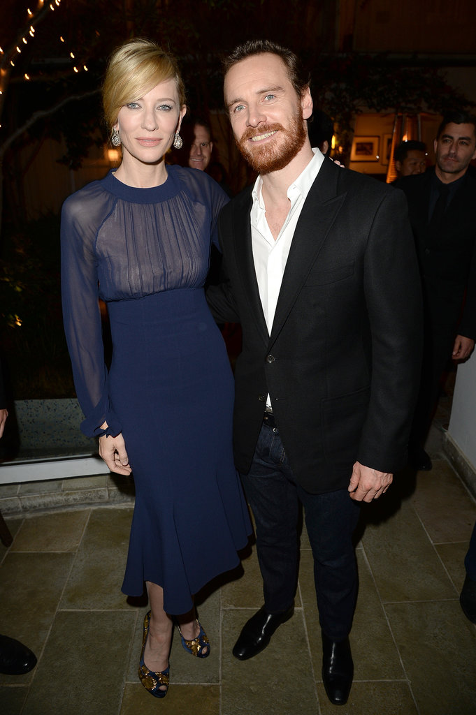On Friday, Cate Blanchett and Michael Fassbender attended the AACTA Awards.
