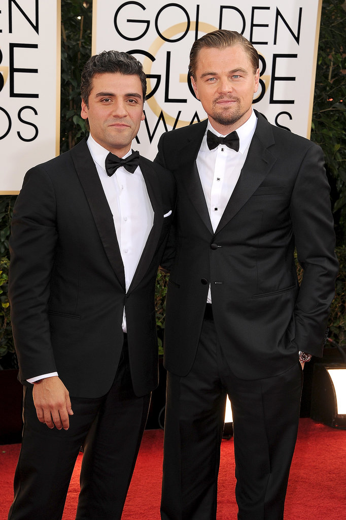 Leo and fellow best actor nominee Oscar Is