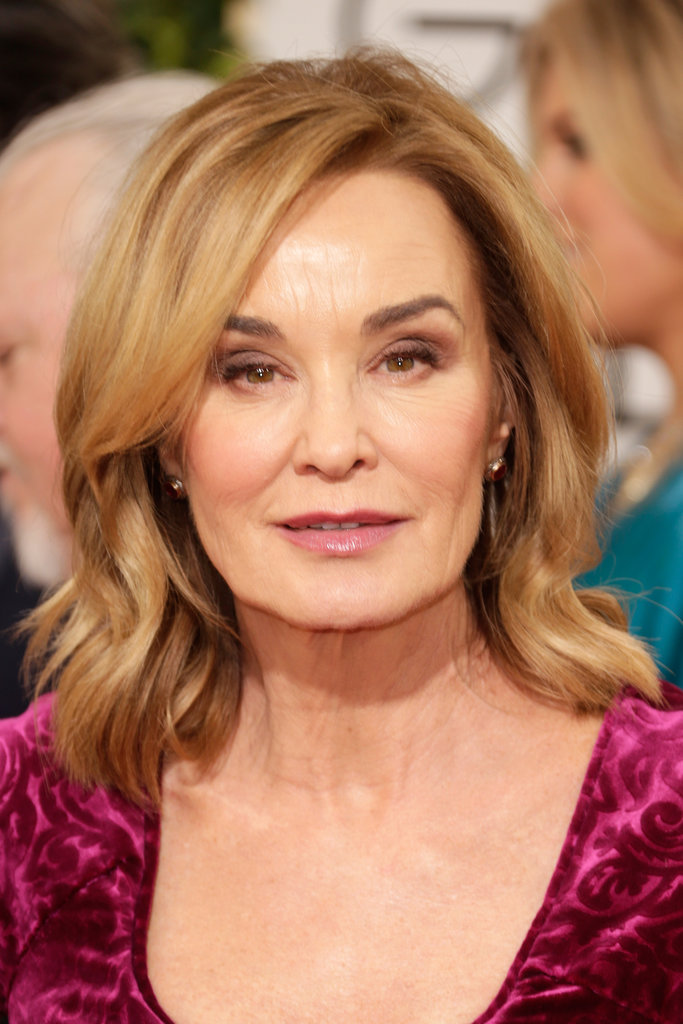 Bold brows were Jessica Lange's look of choice for tonight's festivities.
