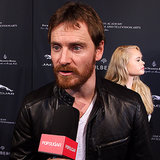 Michael Fassbender Interview at 2014 BAFTA Tea (Video)