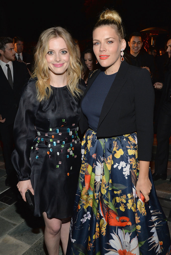 Gillian Jacobs and Busy Philipps mingled with guests.