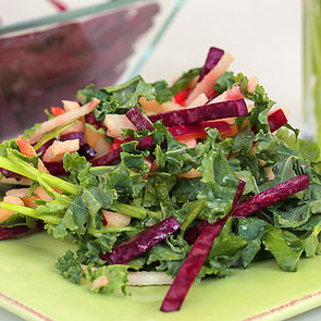 Beet and Apple Salad With Mustard Dressing