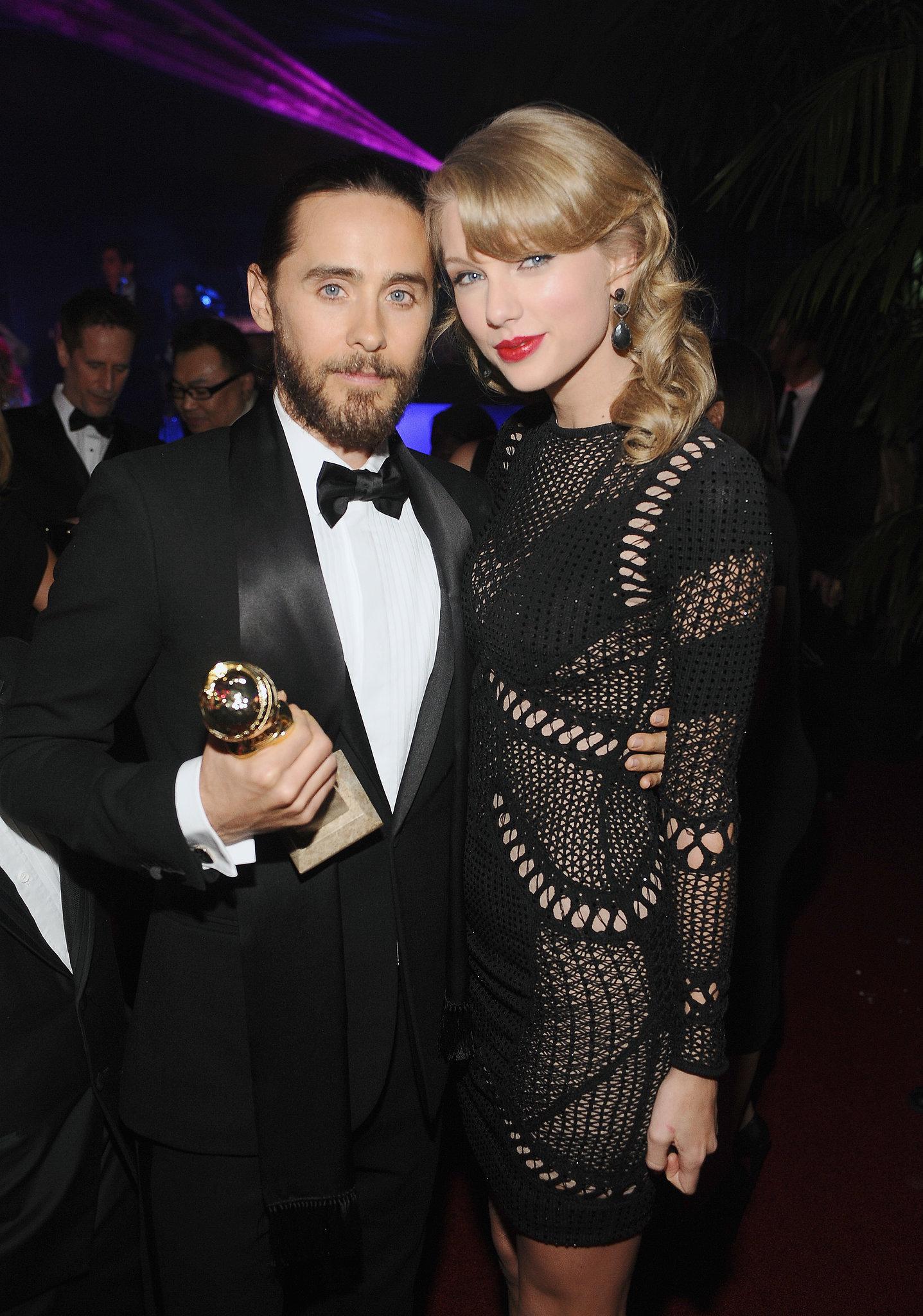 Taylor Swift and Jared Leto mingled inside the bash.