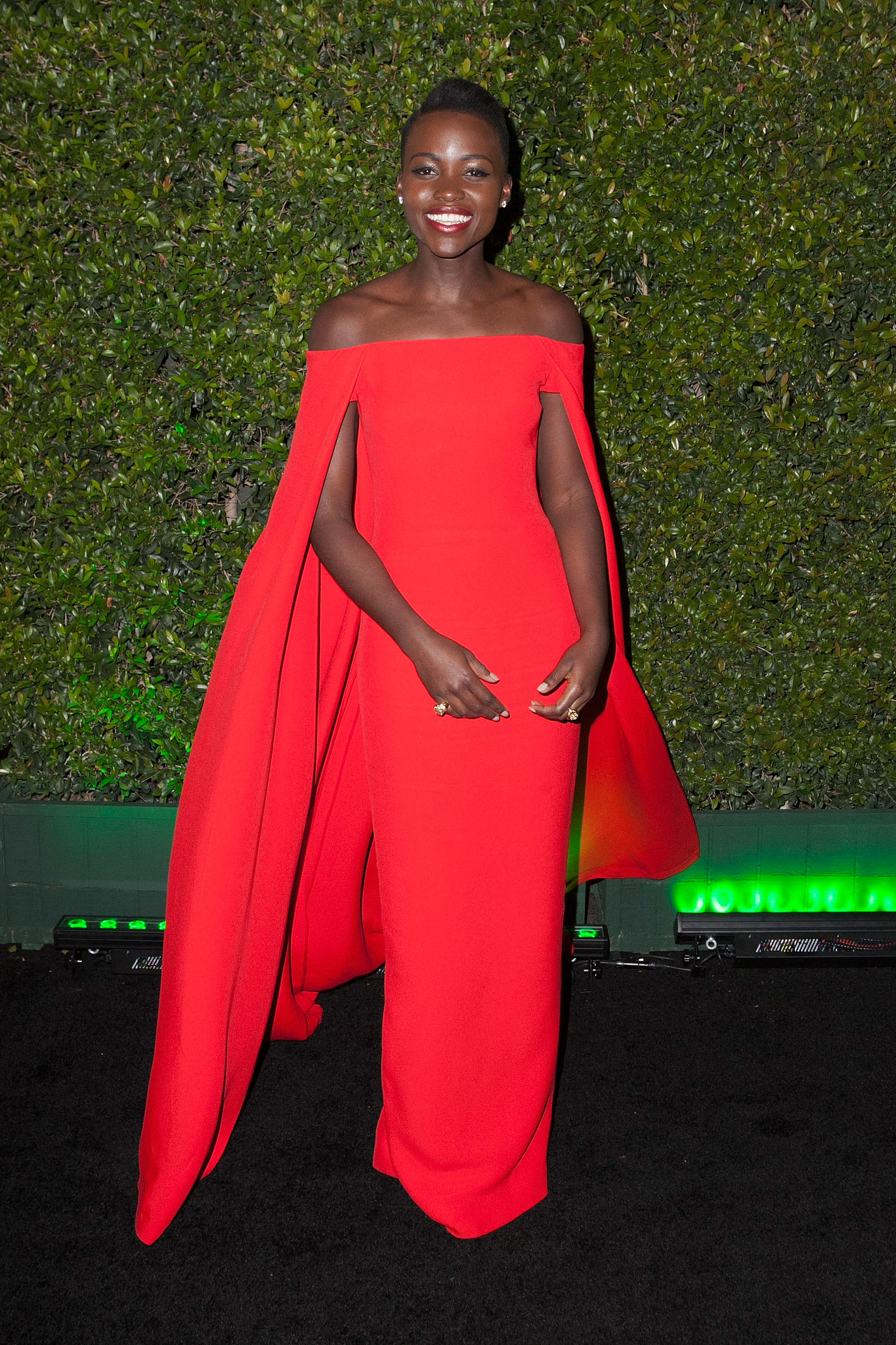12 Years a Slave's Lupita Nyong'o stunned again at this party.